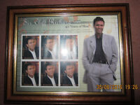 """Cliff Richard """"40 Years of Hits"""" Stamps - Framed First Day Cover"""