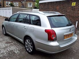 T-Z CARS PRESENT 2008 TOYOTA AVENSIS 2.2 D-4D TR 5dr ESTATE HISTORY 6 MONTHS WARRANTY PX WELCOME