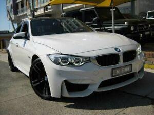 2016 BMW M3 F80 LCI White 7 Speed Auto Dual Clutch Sedan Homebush Strathfield Area Preview