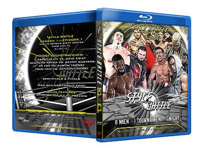 Official WWN Style Battle : Season 1: Episode 1 Blu-ray