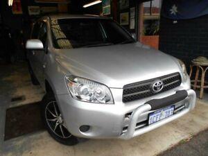 2006 Toyota RAV4 ACA33R CV (4x4) Silver 4 Speed Automatic Wagon Fremantle Fremantle Area Preview