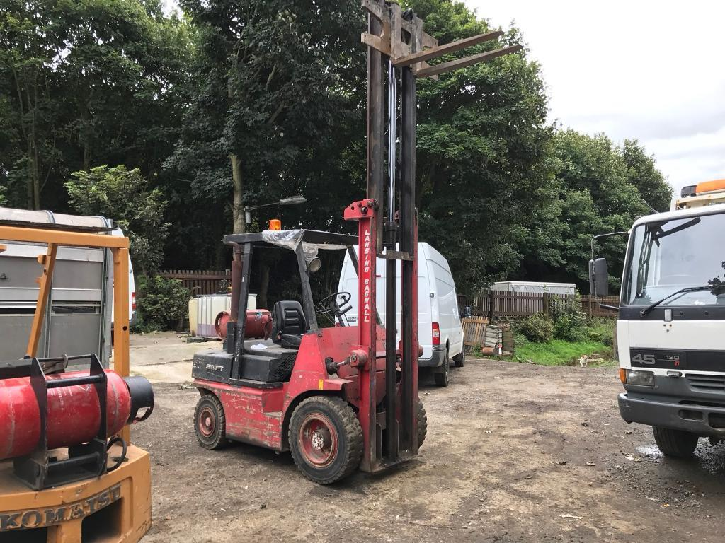 Lansing Bagnall Forklift Wiring Diagram Free Download Hyster E60 Truck Gas In Calverley West Yorkshire
