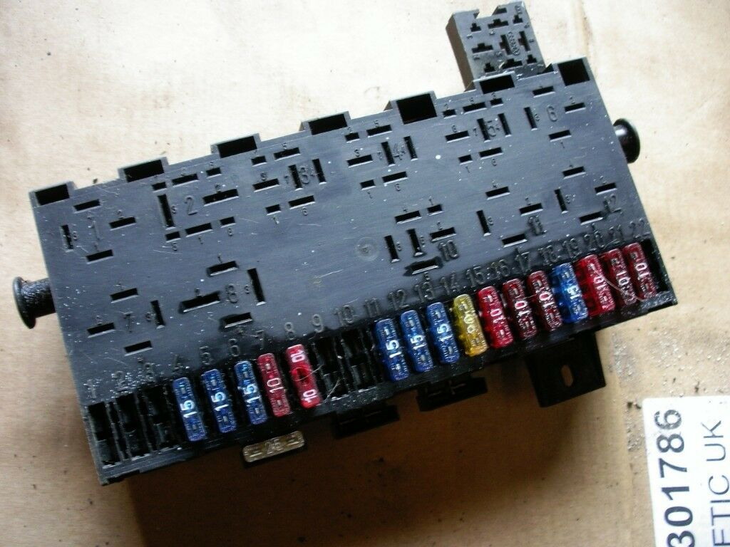 Mk1 Gti Fuse Box Explained Wiring Diagrams Golf R Diagram Blade Fusebox Ex Condition In Shildon County Durham 2012 Passat