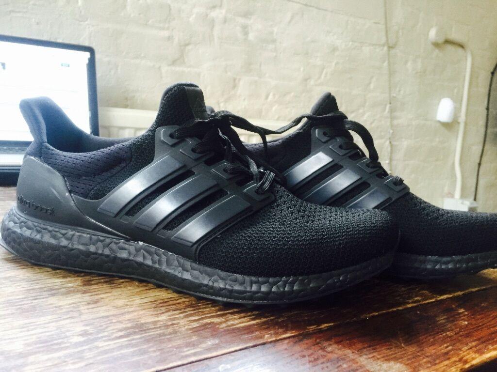 Adidas Boost Triple Black