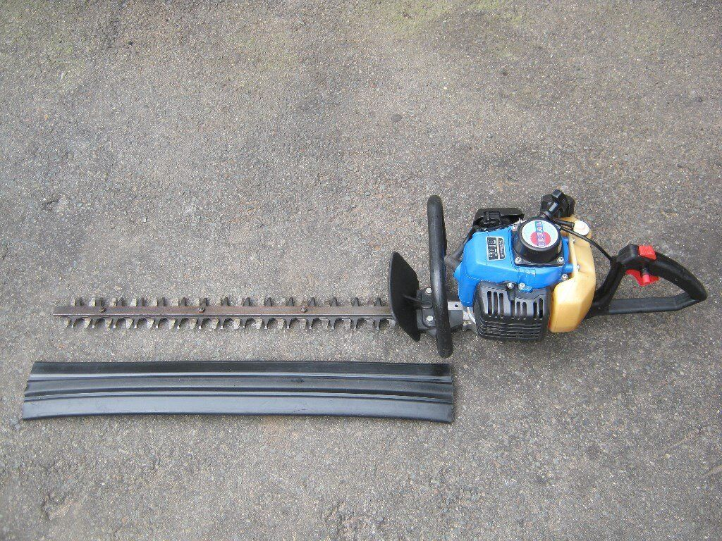 linked image Array - petrol hedge trimmers double sided blades kawasaki tg18  in rh ...