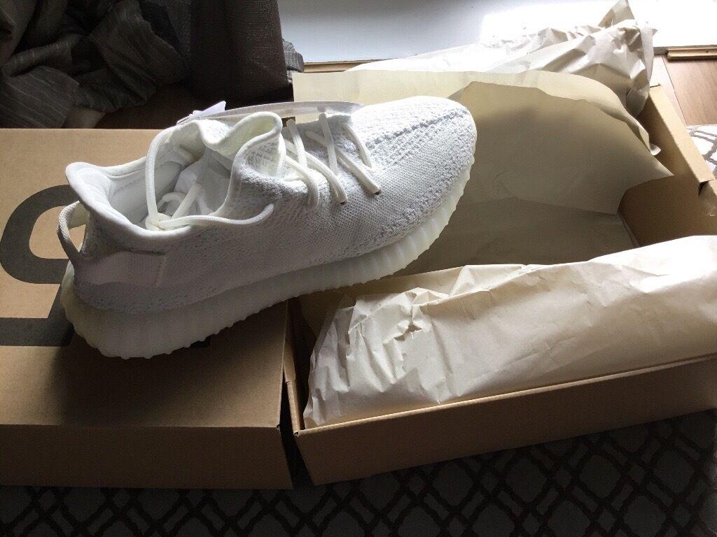 ac03e5fa white yeezy ultra boost white adidas yeezy 350 boost v2 size 9