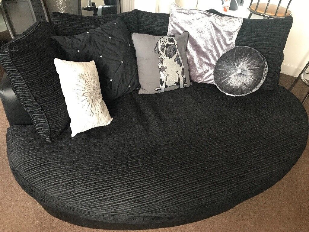 Large Round Couch