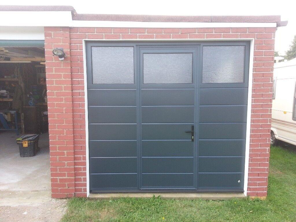 Pass door automated sectional garage door with pass door ex display automated sectional garage door with pass door ex display rubansaba