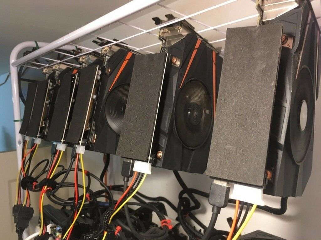 build your own bitcoin mining rig