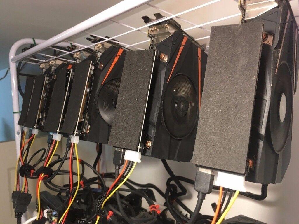 cryptocurrency mining setup