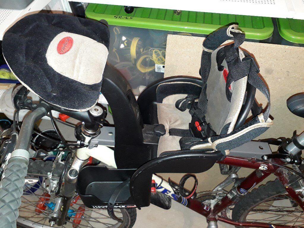 buy weeride safe front child bike seat. Black Bedroom Furniture Sets. Home Design Ideas