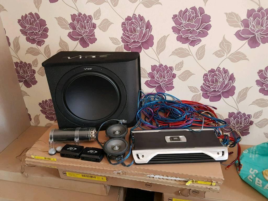 Car Audio Wiring Sub Amp Speakers Crossovers Worksheet And Subwoofer Amplifier Capacitor Tweeters 2way Rh Gumtree Com Crossover Rockford