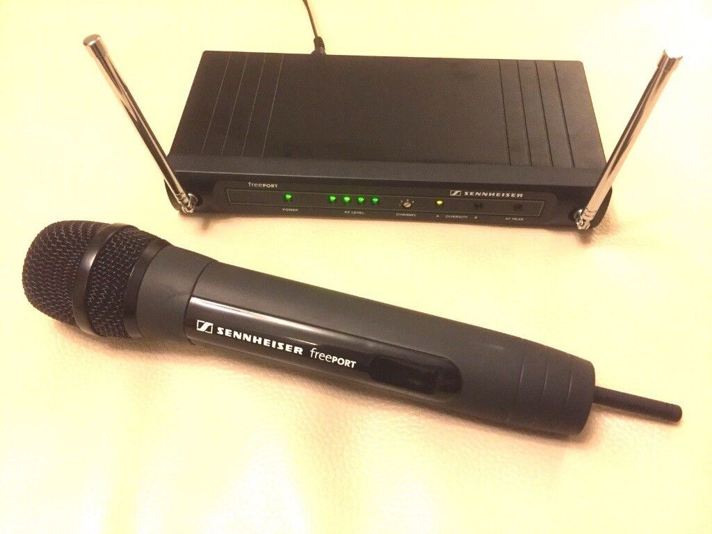 Sennheiser Wireless Microphone Yellow Trusted Wiring Diagram E935 Freeport Radio With Em1 Receiver In