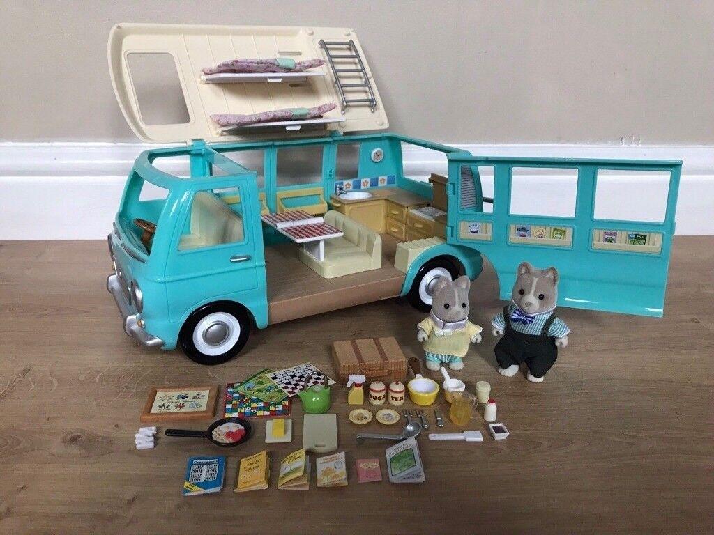 Sylvanian Families Campervan Cheap Toys Kids Toys