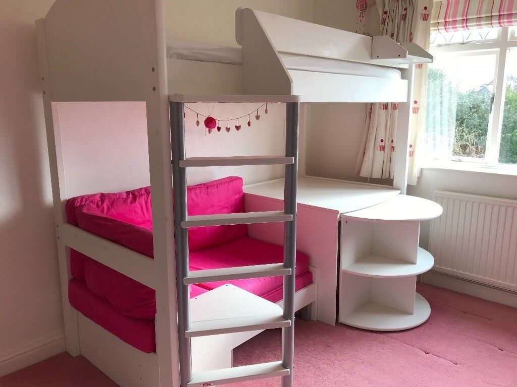 e47690c2118a stompa casa 4 high sleeper bed with pull out bed for sleep oversstompa casa  4 high