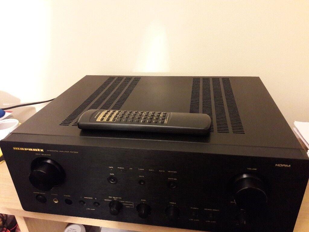 marantz pm 151 original stereo amplifier service manual diagram parts list  o164 Array - marantz pm 7200 class a amplifier w manualremote control in rh  ...