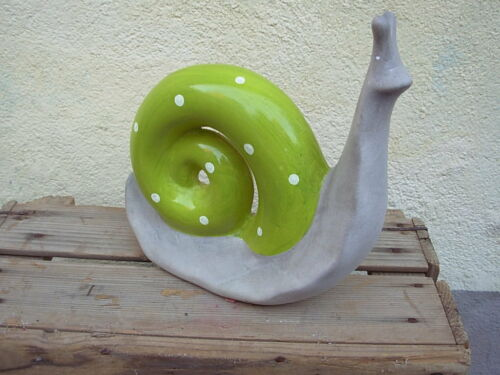 Escargot terre cuite decoration collection maison cuisine for Escargot decoration jardin