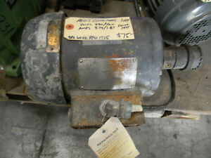 Allis chalmers 1 hp ac motor ebay for Allis chalmers electric motor