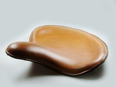 Solo Sitz Bobber WLC Style, Echtleder braun, für Harley - Davidson