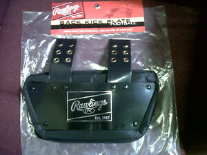 NEW-Rawlings-Adult-Football-Back-Kick-Plate-Rear-Backplate