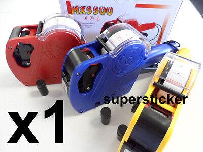 1 X Mx-5500 Eos 1 Line 8 Digits Price Tag Label Gun1 Ink