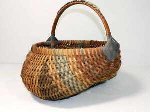 Splint-Buttocks-Basket-Woven-Wicker-Reeds