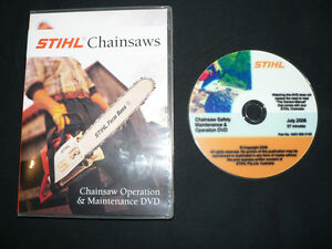 STIHL-chainsaw-OPERATION-MAINTENANCE-DVD