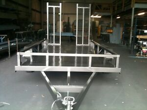 NEW PLANT TRAILER 3.4 tonne RATED PLUS RAMPS FOR EASY LOADING!