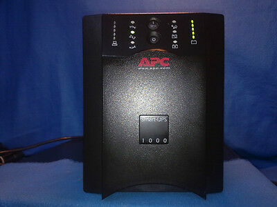 APC Smart UPS SUA1000I, Tower-USV-Anlage, generalüberholt, neue Marken-Akkus!