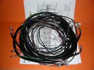 Kabelbaum S51 S70 mit Schaltplan  pass. für  Simson S51 S70