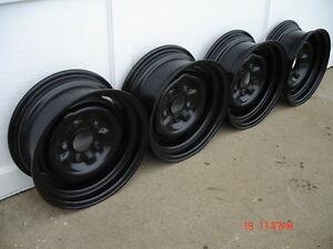 Chev / Pontiac 14x6 station wagon wheels London Ontario image 1