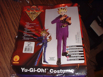 YU-GI-OH! COSTUME  SMALL SIZE 4-6 FOR AGES 3 AND 4 UNOPENED IN PACKAGE - Yu Gi Oh Halloween Costumes