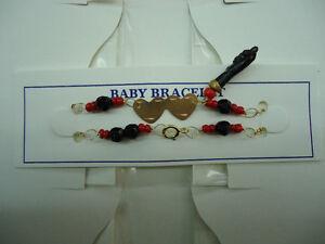 BABY-BRACELET-WITH-BLACK-AZABACHE-HAND-BRANDNEW