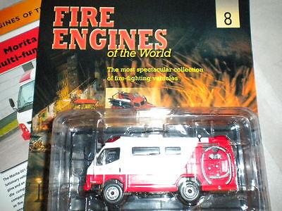 Del Prado World Fire Engines - Japan 2002 Morita Ffa-001 Boxed Issue 8