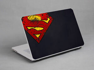 LAPTOP-NOTEBOOK-SKIN-STICKER-COVER-DECAL-SUPER-MAN-SONY-VAIO-TOSHIBA-15-4-inch