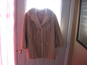 Womans Faux Fur Jacket