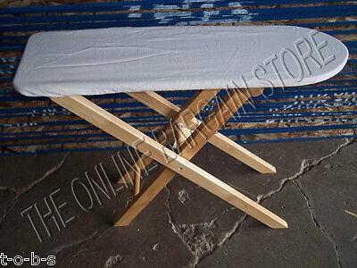 Pottery Barn Kids Wooden Wood Kitchen Furniture Ironing Board Iron Pretend