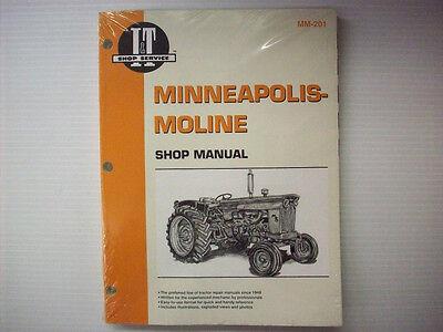 It Manual Minneapolis-moline Mm-201 -