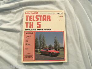 CAR-WORKSHOP-MANUAL-FORD-TELSTAR-TX5-1983