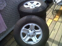 Goodyear Wrangler Jeep Tires/Rims