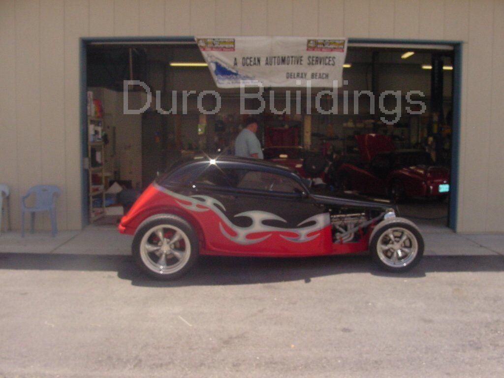 Durobeam steel 50x100 metal garage workshop building for Garage gdn auto