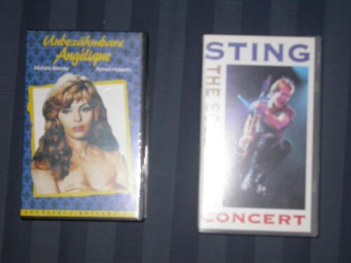 Konvolut VHS-Kassetten +DVD+K-7 in München