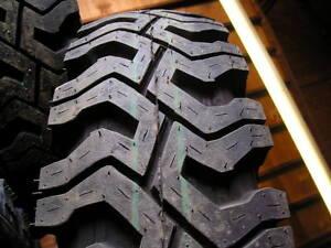 7 00x16 New Traker Plus Mud And Snow Truck Tire 12 Pr
