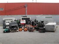Réparation et entretien de génératrices commercial et industriel