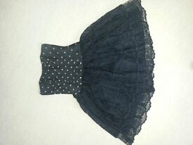 Prom or party dress - designer 'Liberty of London' - Size 8/10. Silk. Worn once (been dry cleaned)