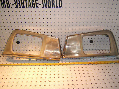 Peugeot 505 1984 STi USA Type Front headlights door 1 set of 2 Assembly,190606