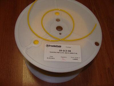 Dental Tubing Polyurethane 1/8 Yellow Reel 33 Feet 10 Mt 1b-013-08 Made In Usa