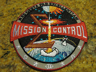 Official NASA Saturn V Apollo Mission Control Patch ...