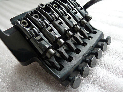 OEM Ibanez EDGE III Floyd Rose Tremolo Bridge Double Lock R43-350 Nut Black New  on Rummage