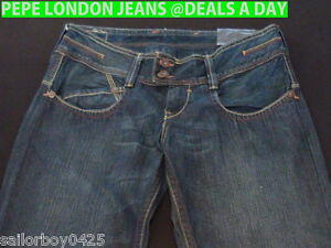 PEPE LONDON JEANS all size 28WOMENS NEW, RRP$155.00-$220.00 HEAPS TO CHOOSE FROM